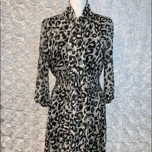 Eliza  J animal print dress